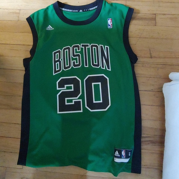 e05b2f82 adidas Shirts   Boston Celtics Ray Allen Jersey   Poshmark